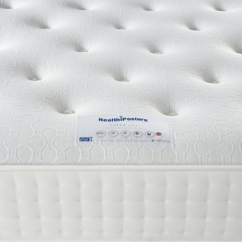 Latex 1000 Mattress Label