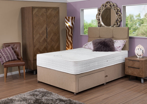 Divan Base including Lumbar 3000 Mattress