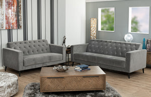 Minx 2 seater sofa (Grey)