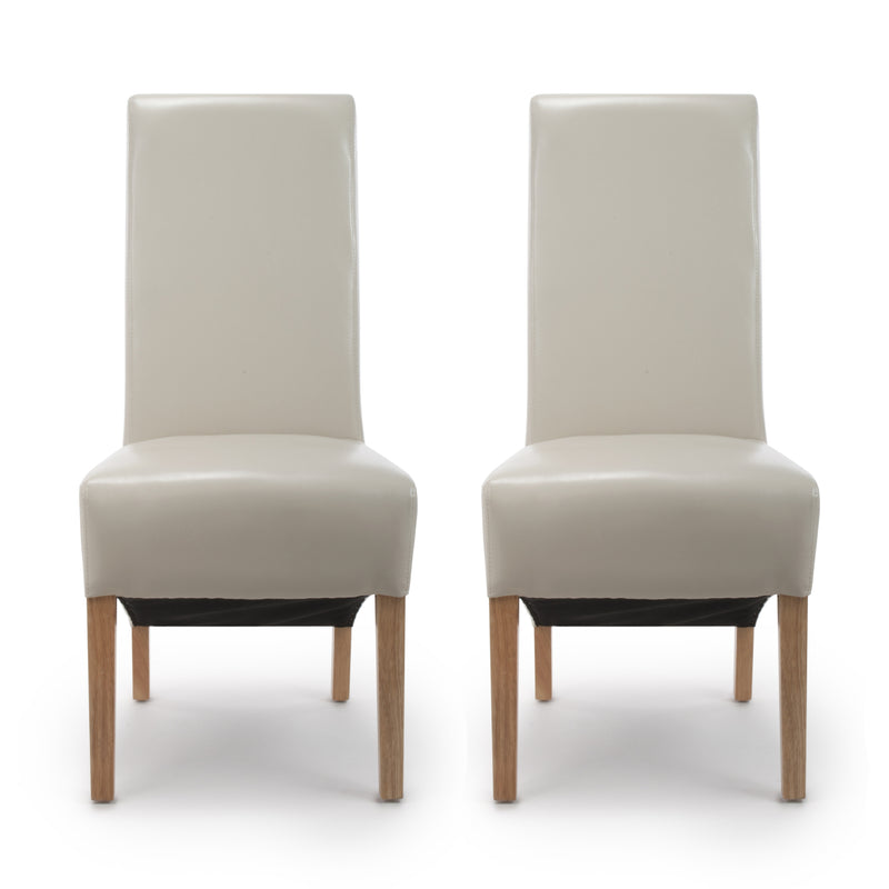 Hudson Dining Chair Ivory (Pair)