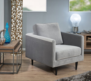New York Armchair (Grey)