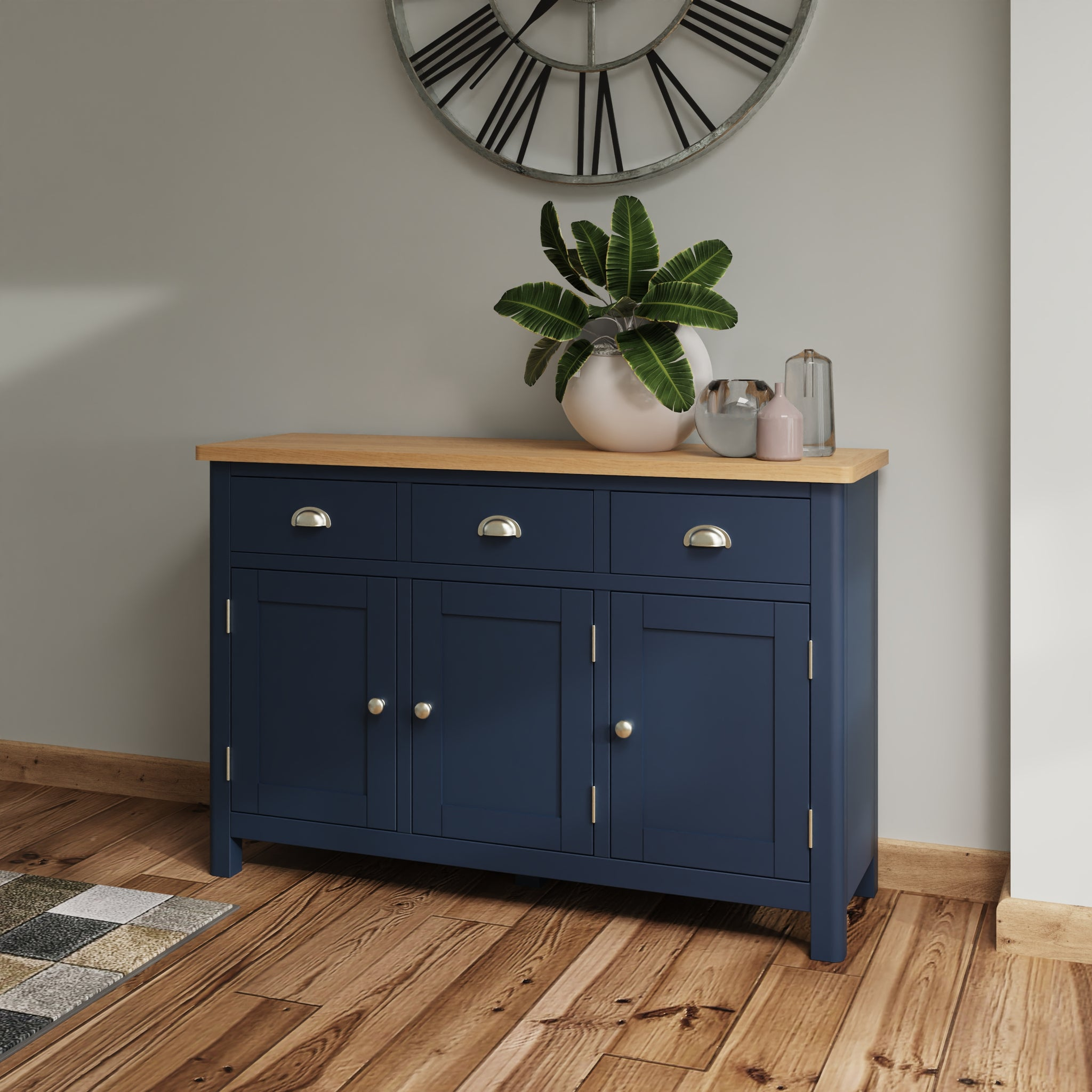 Midnight 3 Door Sideboard