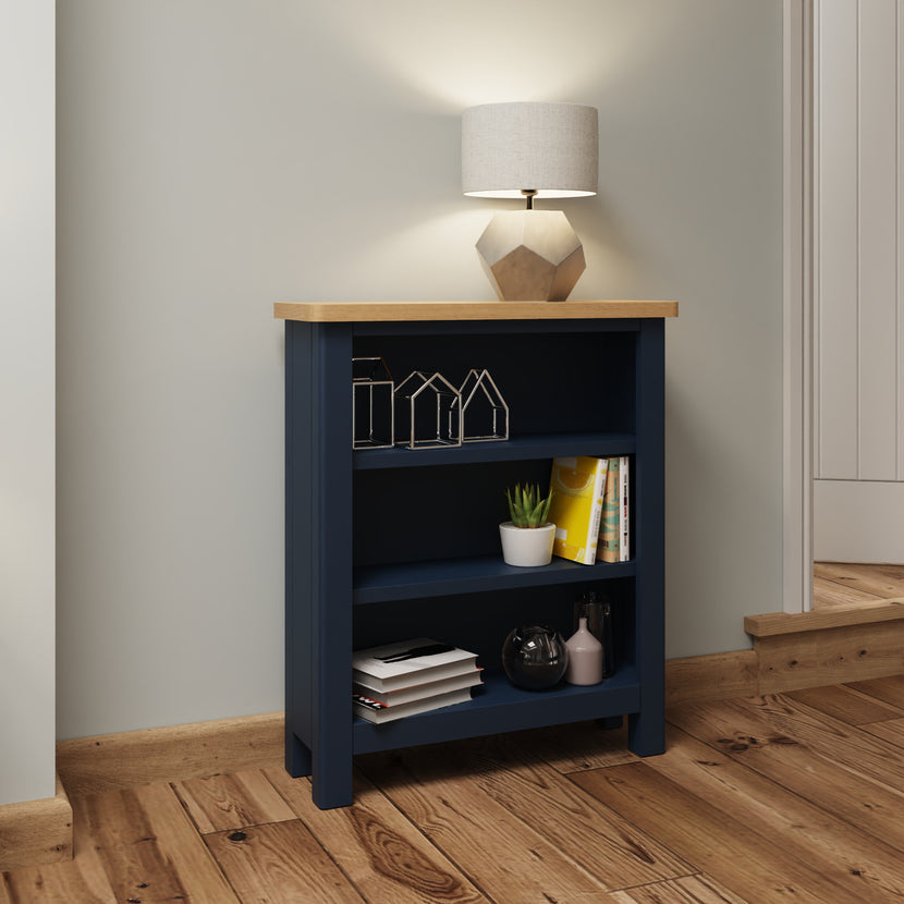 Midnight Small Wide Bookcase