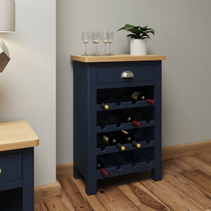 Midnight Wine Cabinet