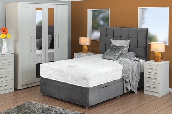 Divan Base including Rock Mattress