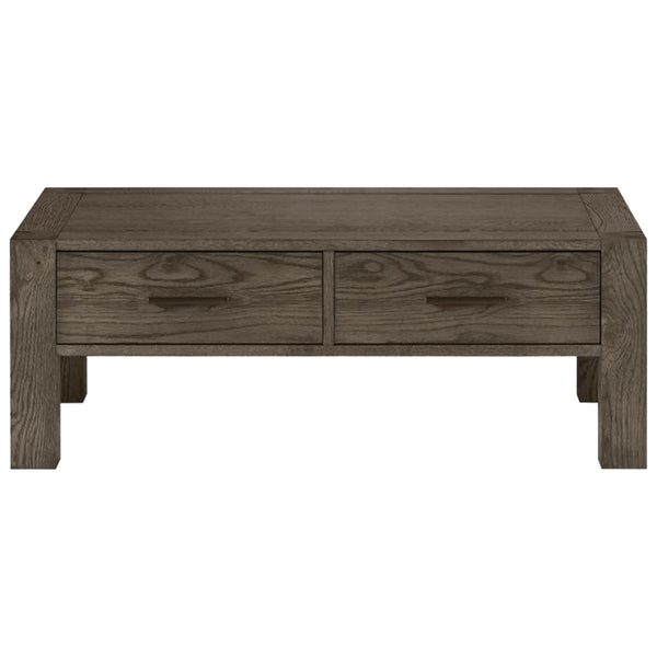 Turin Dark Oak Coffee Table with Drawer
