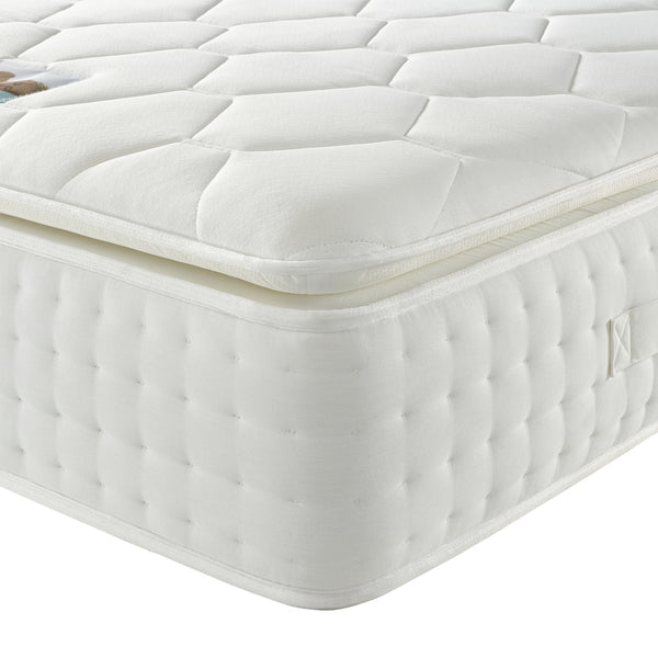 Luxury Visco 3000 Mattress Corner Close Up