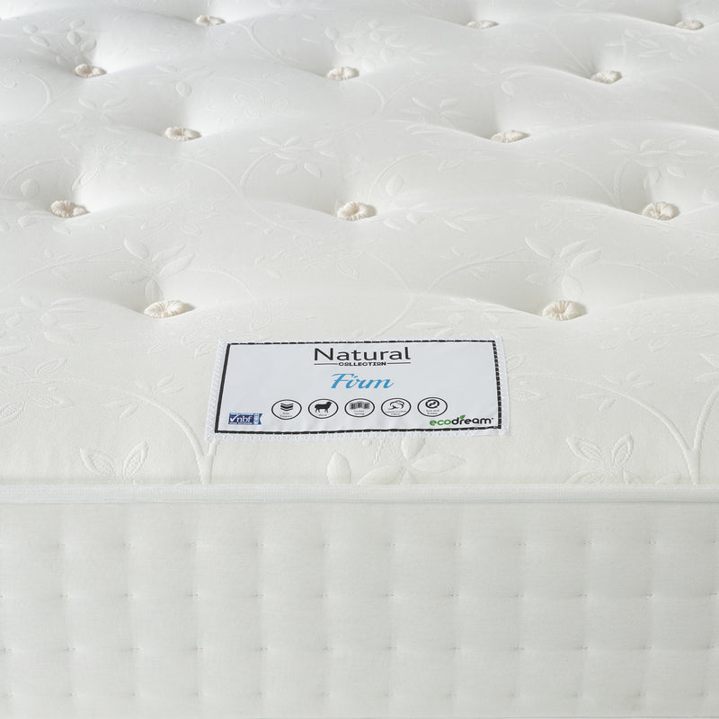 Eco Firm Mattress Label