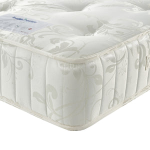 Oak King Mattress Corner Close Up