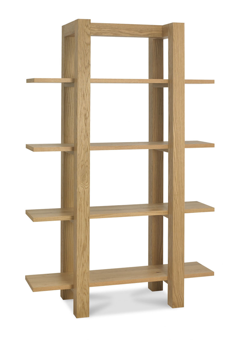 Tuscany Light Oak Open Shelf Unit