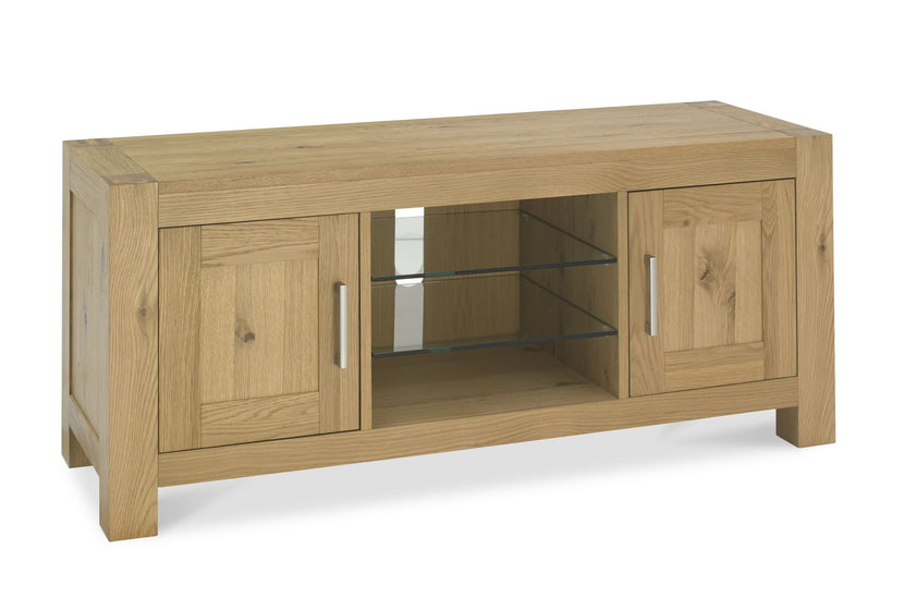 Tuscany Light Oak Entertainment Unit