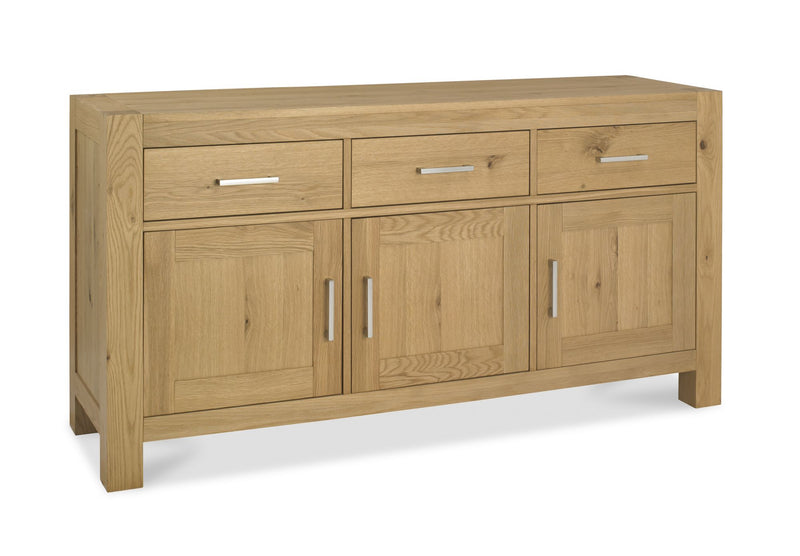 Tuscany Light Oak Wide Sideboard