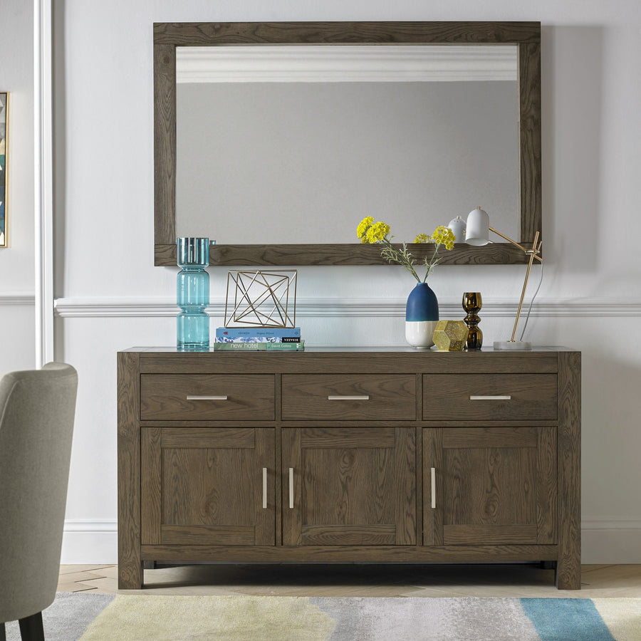 Tuscany Dark Oak Wide Sideboard