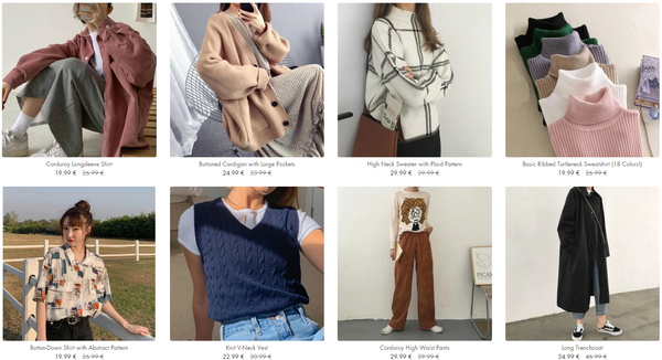 Korean Fashion Collection On Lianox.com