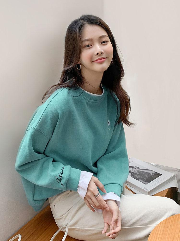 Loose Korean Style 2-in-1 Sweater