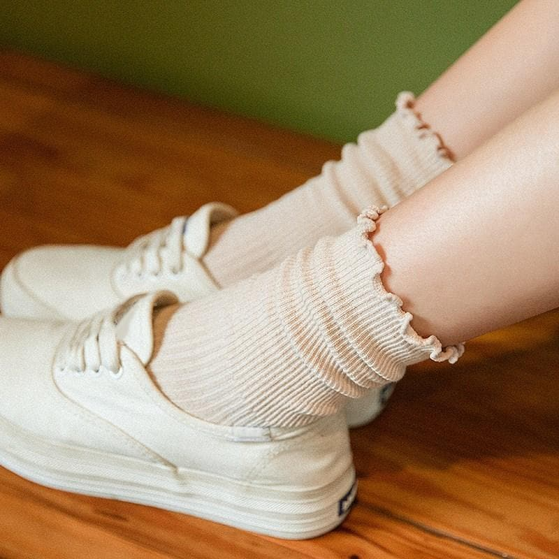 Ruffle Socks - authentic Asian fashion from Korea, Japan and China.