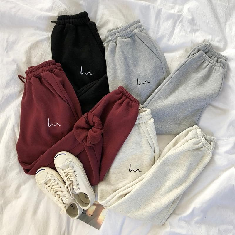 K-FASHION ♥ Casual Joggers - K-Pop Merch Lianox