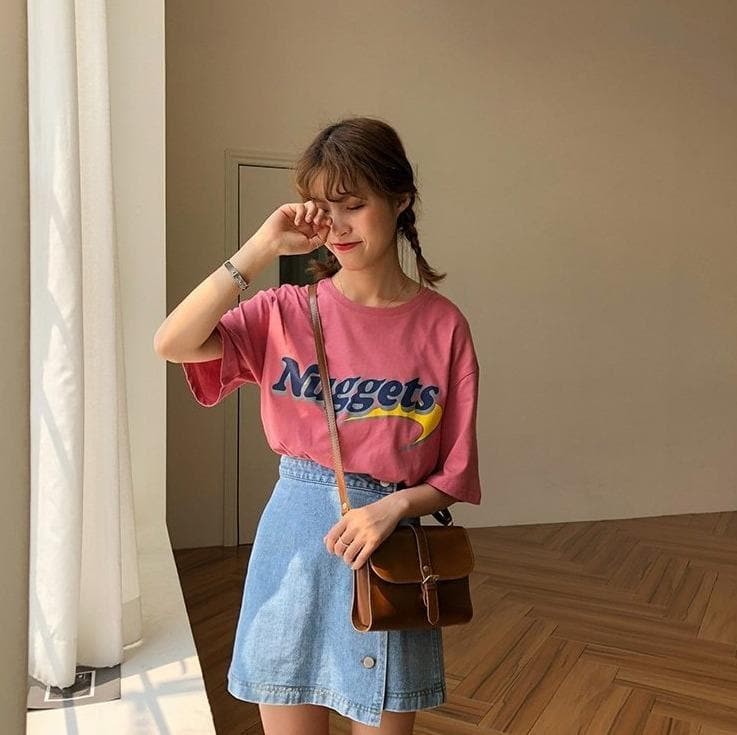 """Nuggets"" T-Shirt - authentic Asian fashion from Korea, Japan and China."
