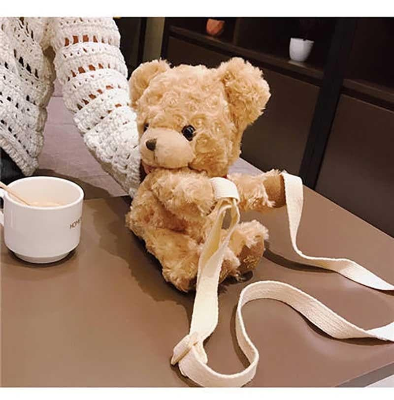 Teddy Crossbody Bag - authentic Asian fashion from Korea, Japan and China.