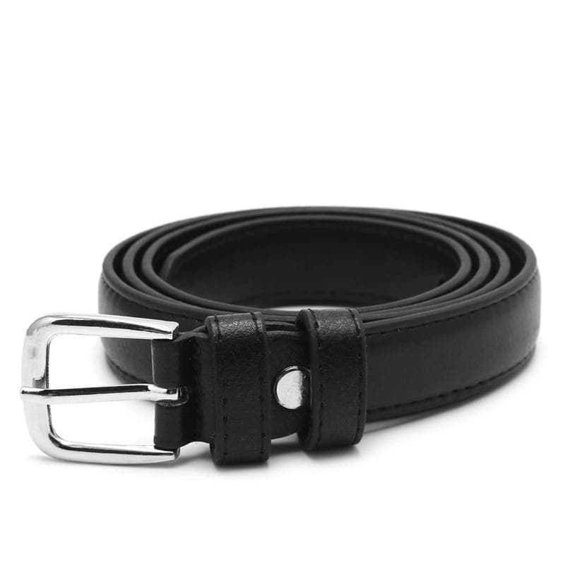 Shiny Faux Leather Belt - authentic Asian fashion from Korea, Japan and China.