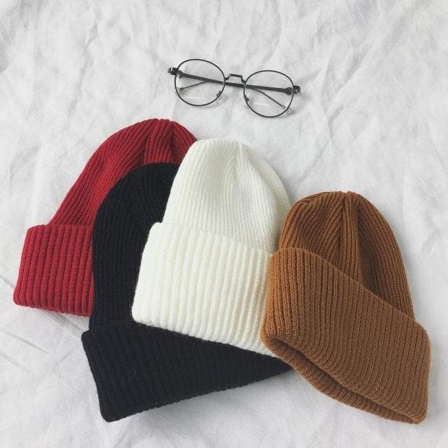 Knit Beanie - authentic Asian fashion from Korea, Japan and China.