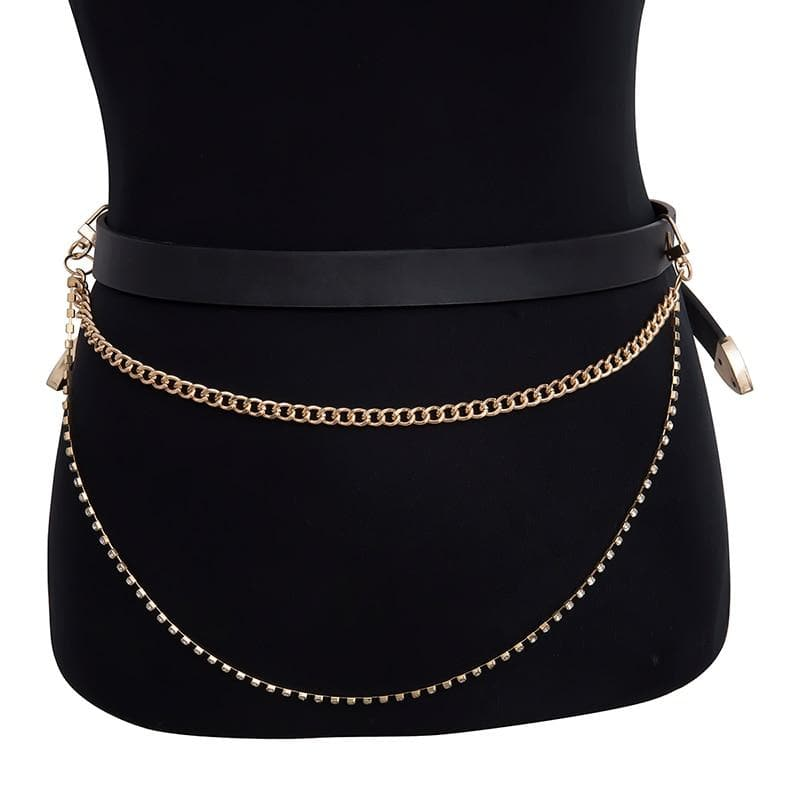 Belt Chain - authentic Asian fashion from Korea, Japan and China.