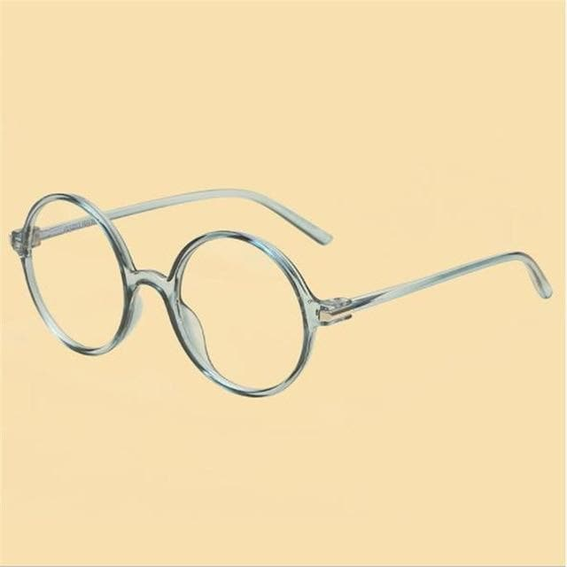 K-FASHION ♥ Round Glasses With Thick Frame - K-Pop Merch Lianox