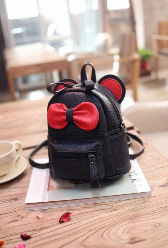 K-FASHION ♥ Cartoon Backpack With Bow - K-Pop Merch Lianox