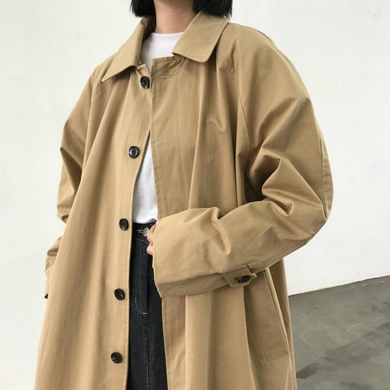 Long Trenchcoat - authentic Asian fashion from Korea, Japan and China.