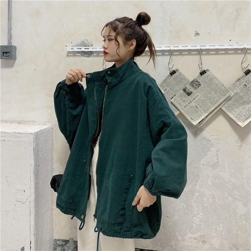 Oversize Jacket - authentic Asian fashion from Korea, Japan and China.
