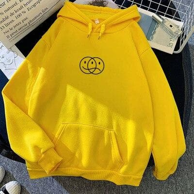 Happy Face Sad Face Hoodie - authentic Asian fashion from Korea, Japan and China.