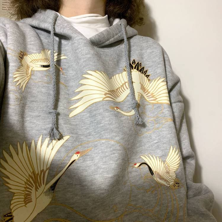 Pelican Hoodie - authentic Asian fashion from Korea, Japan and China.