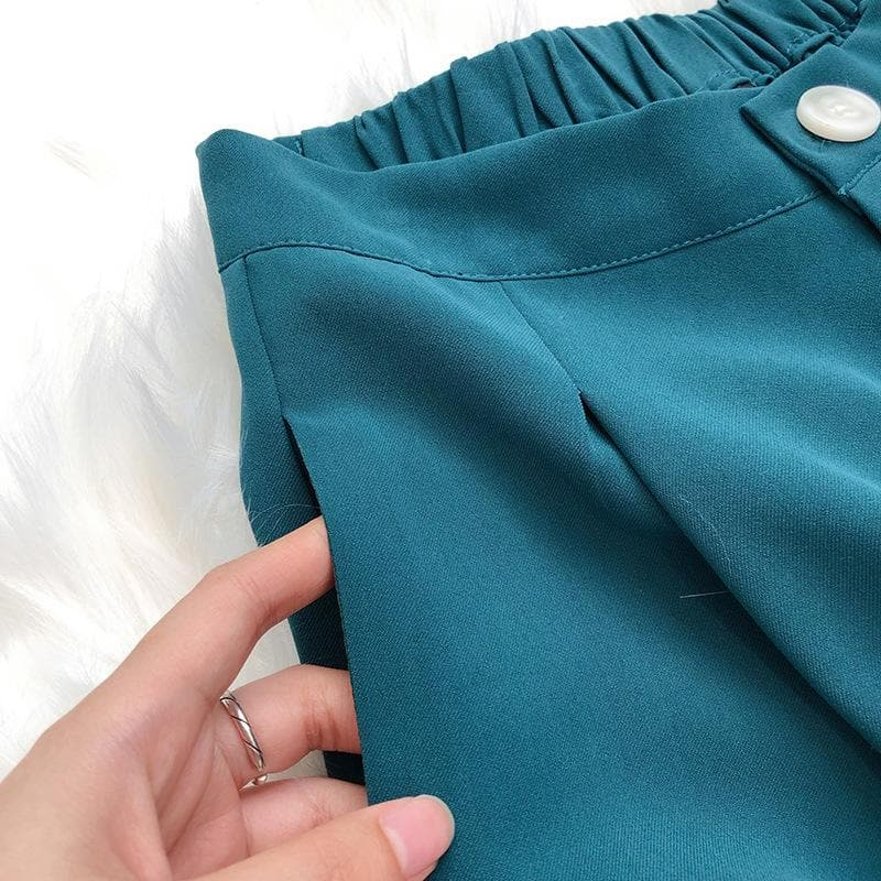 High-Waist Balloon Pants With Loose Fit