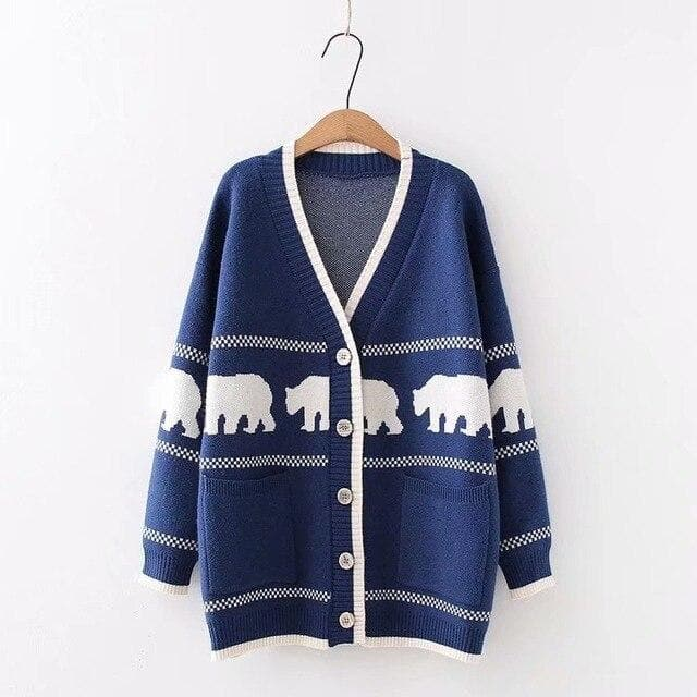 Ice Bear Cardigan