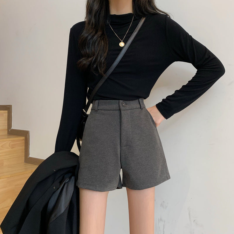 High-Waist Shorts (S to 3XL!)