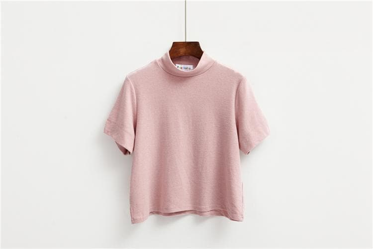 K-FASHION ♥ Turtleneck Shirt - K-Pop Merch Lianox