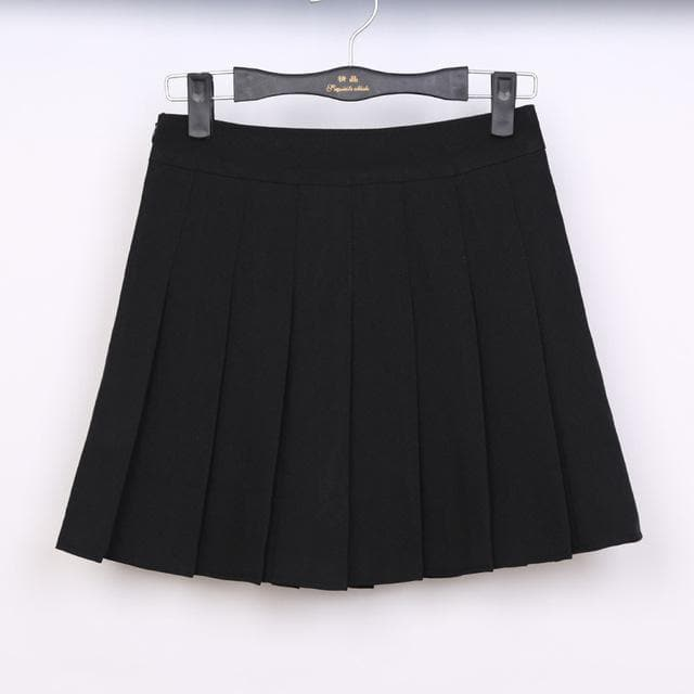 K-FASHION ♥ School Uniform Style Skirt - K-Pop Merch Lianox