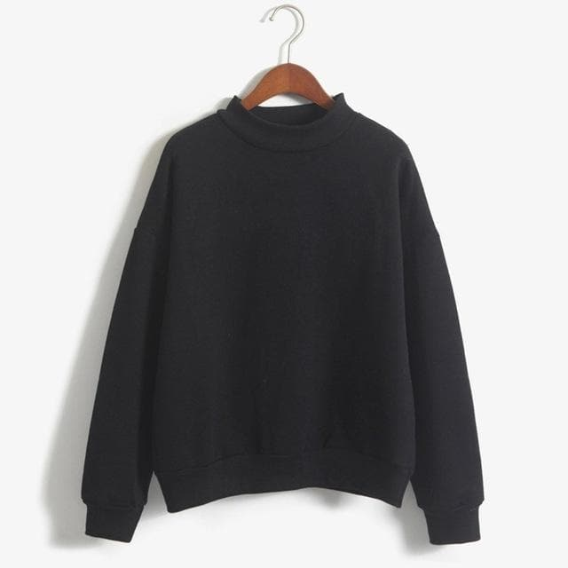 K-FASHION ♥ Turtleneck Longsleeve - K-Pop Merch Lianox