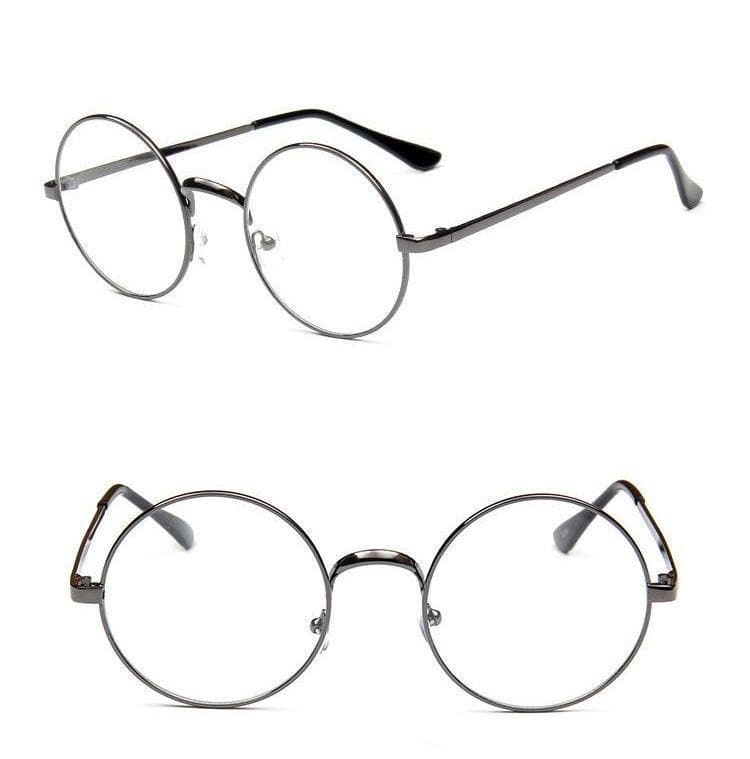 K-FASHION ♥ Round Mirror Glasses - K-Pop Merch Lianox