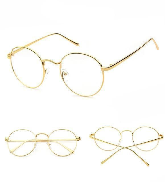 Oval Mirror Glasses - authentic Asian fashion from Korea, Japan and China.