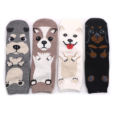 Cute Dog Socks - authentic Asian fashion from Korea, Japan and China.