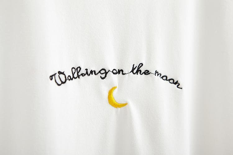 K-FASHION ♥ WALKING ON THE MOON Shirt - K-Pop Merch Lianox