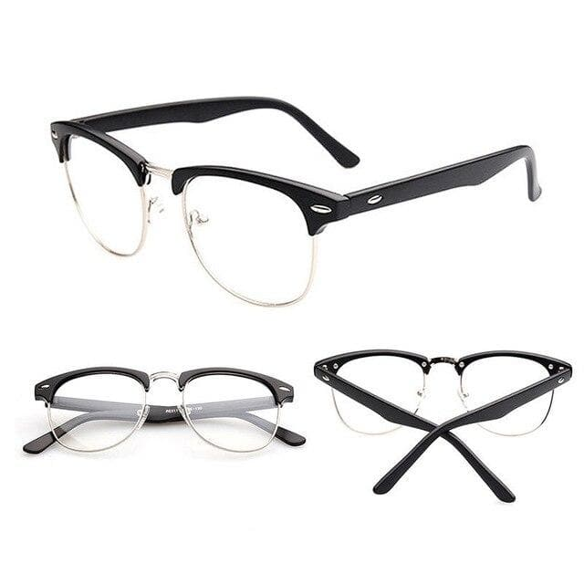 Half Frame Glasses - authentic Asian fashion from Korea, Japan and China.