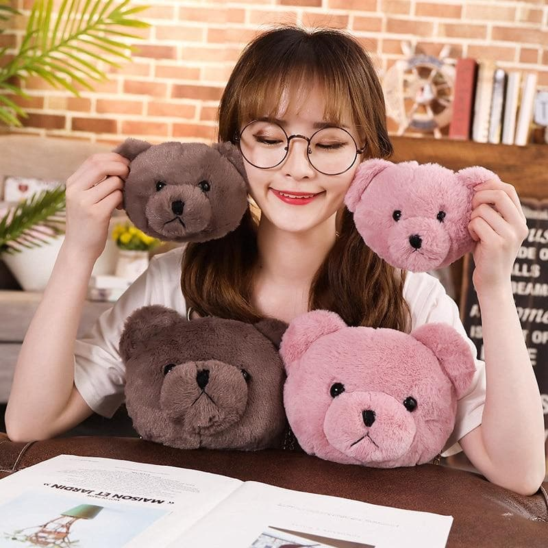 K-FASHION ♥ Cute Teddy Plush Purse/Bag - K-Pop Merch Lianox
