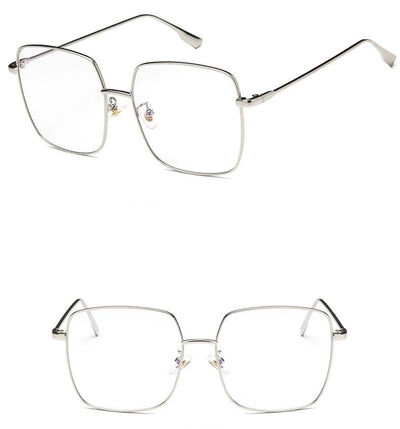 Rectangle Retro Glasses - authentic Asian fashion from Korea, Japan and China.