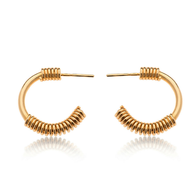 CLAIRE GOLD EARRINGS - Bonanza Studio