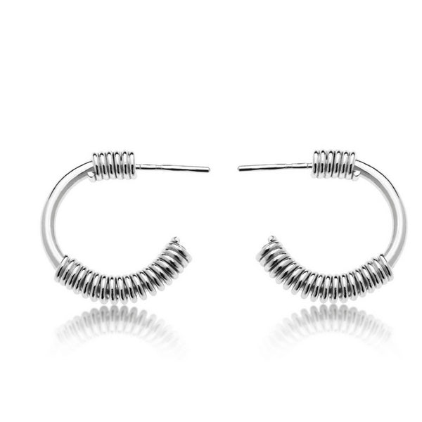 CLAIRE SILVER EARRINGS