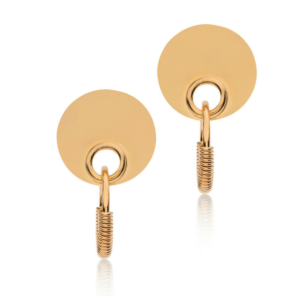 BROOK GOLD EARRINGS