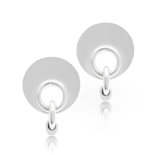 ROBIN SILVER EARRINGS