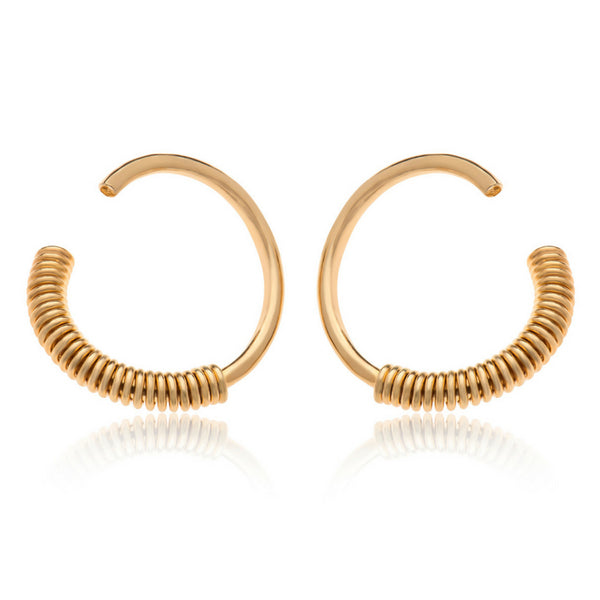 TOBY B GOLD EARRINGS